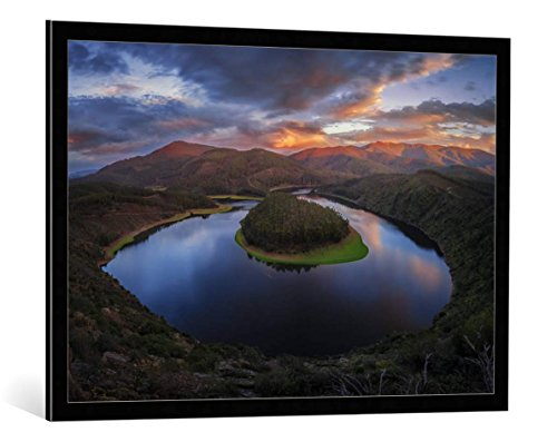 image-encadree-clara-gamito-the-hidden-valley-impression-dart-decorative-en-cadre-de-haute-qualite-1