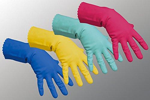 Vileda Handschuhe Multipurpose Der Feine Naturlatex rot Größe L