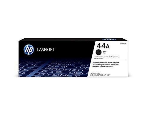 HP 44 - Cartucho de tóner original 44A, para LaserJet Pro M15a, M15w, M28a y M28w, color negro