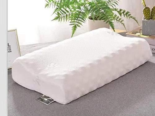 almohada latex cervical maxhome con funda lavable
