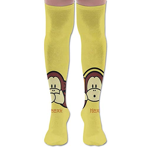 y Unisex Knee High Long Socks Boot High Socks Length 65cm ()