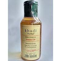 Khadi Khazana Natural Herbal Fully Ayurvedic Sesame Oil, 100 ml
