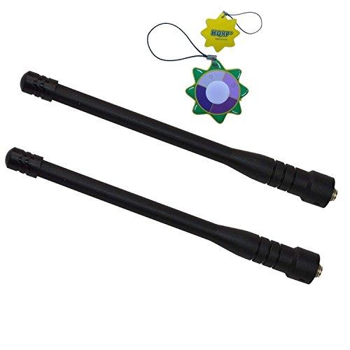 Visar-serie (HQRP 2-Stück VHF Antennemitgroßer Reichweite für Motorola SRX2200 / STX / Visar / XiR P8200 / XiR P8208 / XiR P8260 + HQRP Sonnenlichtmesser)