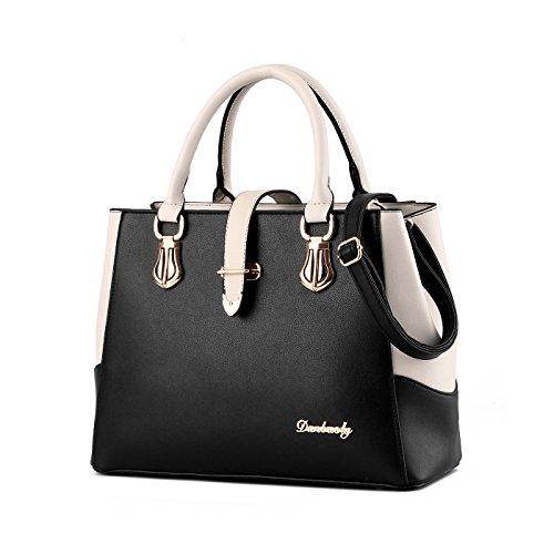 Handtasche Große Schulter (Tisdaini Neue Damen Handtaschen PU Leder Mode Schulter Messenger Tasche weibliche Handtasche große Kapazität Brieftasche)