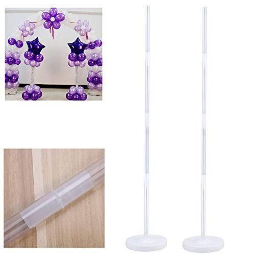 Ballonsäulenständer, Bogenständer mit Rahmen und Stange für Hochzeit, Geburtstag, Party, Dekoration, Großhandel