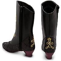 Disney - Frozen: El Reino del Hielo - Zapatos de disfraz Princesa Anna botas para niña - tamaño UK 9 - 10 ,,, EU 27 - 28