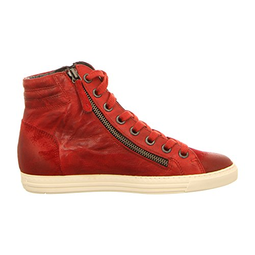 Paul Green 4213-139, Scarpe stringate donna Rot