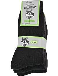 3 Paar Sehr warme POLAR HUSKY® Socken mit Vollplüsch und Schafwolle / Nie wieder kalte Füße!