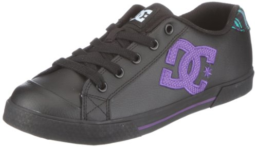 DC Shoes Chelsea LE D0302863, Sneaker donna Nero (Schwarz/Black)