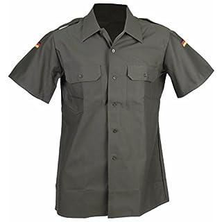 A. Blöchel Kurzärmliges Feldhemd der Deutschen Bundeswehr in Importqualität Securityhemd Farbe Steingrau-Oliv Größen 4-7 (4 (41/42))