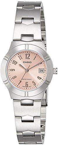 41BhyCzoNdL - Casio Enticer Beige Women LTP 1241D 4A3DF A851 watch