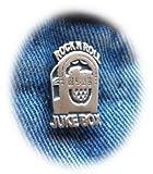 Rock n Roll Juke box peltro spilla risvolto spilla free UK post musica rock and roll Rocker