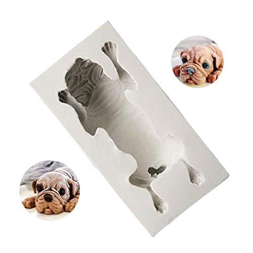 Hund Form Silikonform, Mousse Kuchen Schimmel, Polymer Clay Schimmel, Basteln, Harz Epoxy, DIY Mode Dekoration Werkzeuge Fondant Schimmel, Soap Mold, Kerze Schimmel