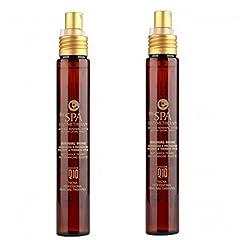 Idea Regalo - Spray anti crespo illuminante per capelli 150 ml tecna the spa enzymetherapy sensual shine DUO PACK 2 x 75ml PROMOZIONE SPEDIZIONE GRATUITA