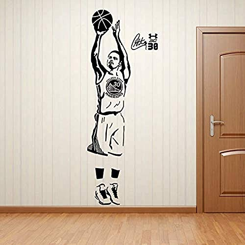 44x120 cm Sport Basketball Spieler Stephen Curry Schule Einfach Paste Adhesive art Wandaufkleber, Abnehmbare Aufkleber, wasserdicht wallposter, hause