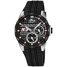 Lotus Marc Marquez Racing GP 18260/4 - Reloj de pulsera, multifunción, acero