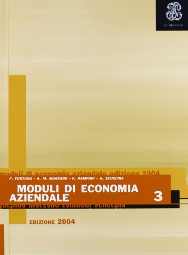 Moduli di economia aziendale. Per gli Ist. professionali: 3