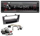 Kenwood KMM-BT205 USB Bluetooth MP3 AUX Autoradio für Audi A4 B6 B7 00-08 Symphony Bose Aktivsystem Mini-ISO