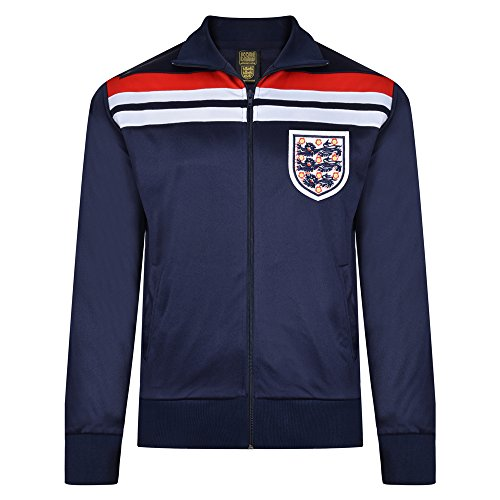 Official Retro England 1982Empire Marineblau Track Jacket, M