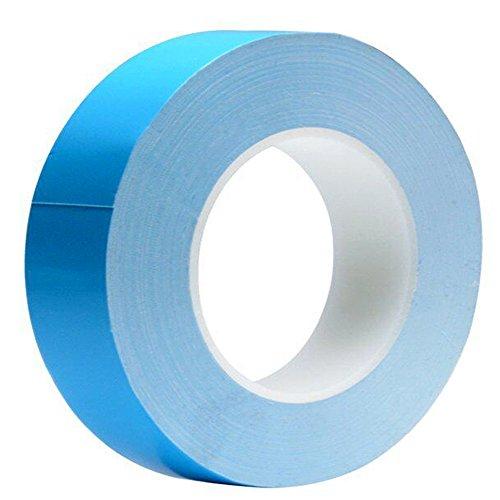 Tuloka Thermisches Klebeband leitend, doppelseitig, kühlendes Band für integrierte Schaltungen, Kühlkörper, Chipsatz, LED, 25m x 20mm