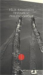 Testament philosophique