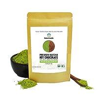 Natureveda's Premium Matcha Hot Chocolate Powder Mix - [30 gm/30 Servings]
