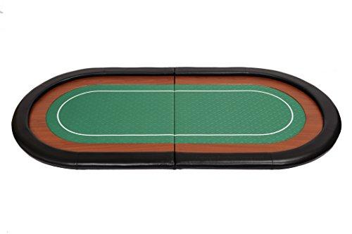 Riverboat Gaming Champion faltbare Pokerauflage mit grünem wasserabweisenden Stoff und Tasche - Pokertisch 180cm - 4