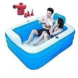 Aufblasbare Badewanne Aufblasbare Pools for Erwachsene Planschbecken for Kinder Faltbadewannen...