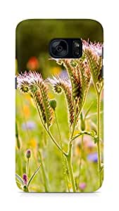 Amez designer printed 3d premium high quality back case cover for Samsung Galaxy S7 (Weeds life)