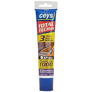 Ceys M112426 – Adhesivo sellador ms-tech blanco 125ml