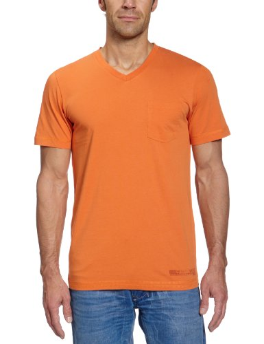 H.I.S Jeans Herren T-Shirt Orange