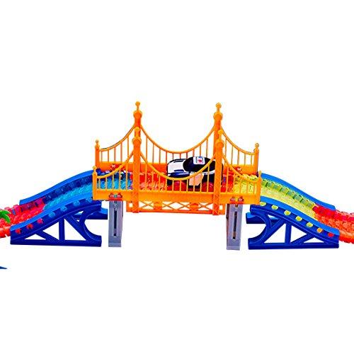 BestofTv Magic Tracks die Brücke London für eine Schaltung noch mehr unglaublich lustig, anpassbar und glänzend in der Schwarz–gesehen an Fernseher (Schaltung Eine Zubehör)