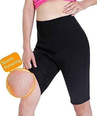 Gotoly Damen Fitnesshose Abnehmen Lange Hosen Neopren Sweat Sauna Körper Shaper