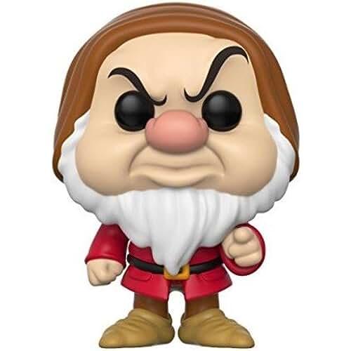 munecos pop kawaii Funko Pop! - Disney: Snow White Figura de vinilo Grumpy (21727)