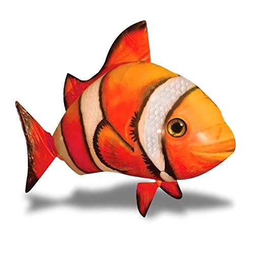 Fisch Clown Lenkrad aufblasbar und Fernbedienung ferngesteuert ()