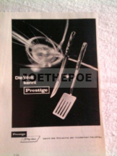 60er Jahre : Anzeige: PRESTIGE SKY-LINE - Format: ca. 70 x 100 mm - alte Werbung /Originalwerbung/ Printwerbung /Anzeigenwerbung - Prestige Line
