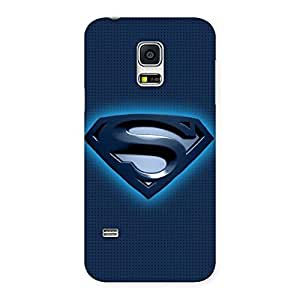 Radiant Super Blue Back Case Cover for Galaxy S5 Mini