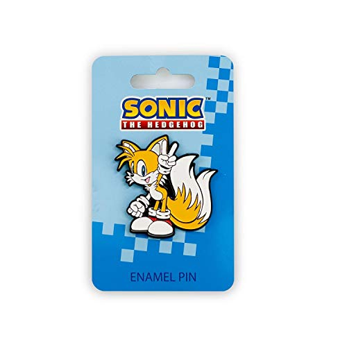 Sonic the Hedgehog Tails Enamel Collector Pin (Hedgehog Tails Sonic)