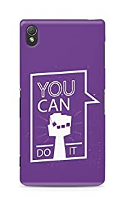 Amez You can Do It! Back Cover For Sony Xperia Z3