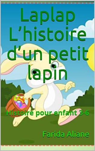 Couverture du livre Laplap L'histoire d'un petit lapin: Histoire  pour enfant  3-6