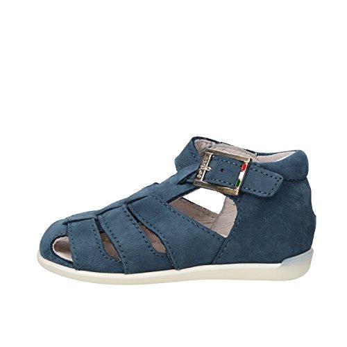 BALDUCCI sandali bambino blu pelle scamosciata AF347 (17 EU)