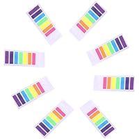 980 piezas Notas autoadhesivas, Marcadores Adhesivos Páginas, 7 Colores
