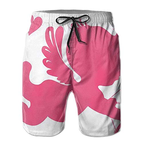 IconSymbol Cupid LoveCupid Amor Neuheit Hygroscopic Men Board Shorts Aktivitäten Hosen -