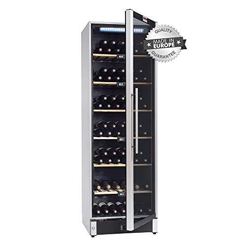 La sommelière VIP180 - Cave à vin multi températures - Cave à air brassé - Cave à vin 180 bouteilles