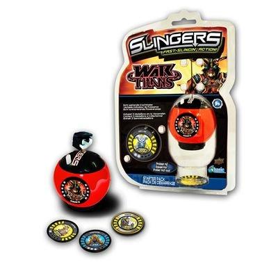 Upper Deck 202013R1 - Slingers War Titans Starter Set, farblich sortiert