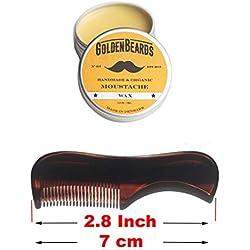 Kit De Bigote Cera + Peine Kent 81T. Obtén el MEJOR KIT de cera para el bigote con un cepillo de Kent al mejor precio, ahorre dinero comprando estos dos productos!