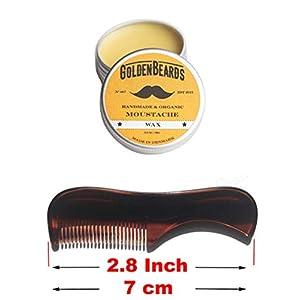 Bartwachs & Kent Kamm 81 T – Get die besten Bartwachs KIT mit einem Pinsel Kent am besten Preis sparen diese beiden Produkte zu bestellen! Hersteller: Golden Beards Products