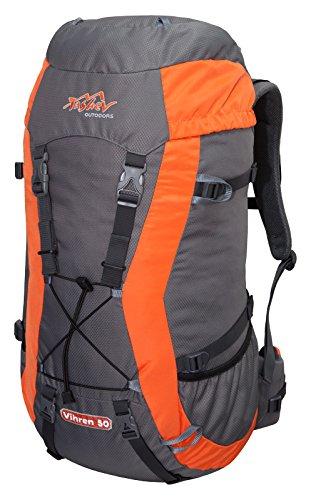Tashev Trekkingrucksack Vihren 50 L Grau - Orange
