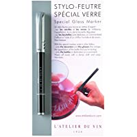 L'Atelier du Vin 095224-7 Pennarello per vetro colore: