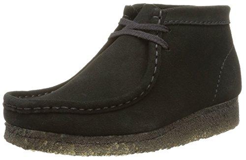 Clarks Originals Wallabee, Boots femme Noir (Black)